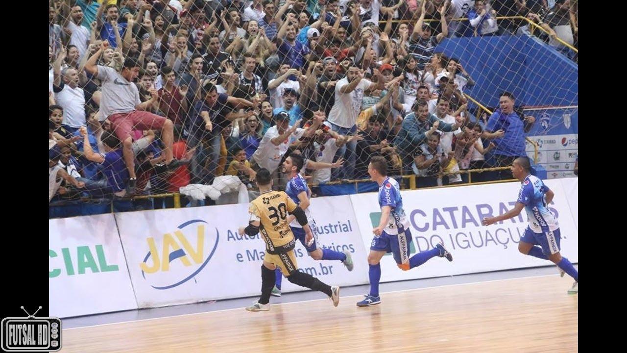 Melhores Momentos Foz Cataratas 2 x 1 Joinville - Semifinal Jogo 1 LNF 2017 (04/11/2017) - YouTube