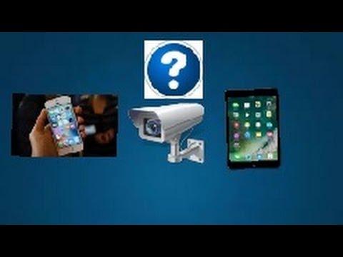 Как использовать IPhone и IPad как видеонаблюдение?  TrackView