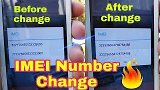 How To Change IMEI Number In Any Android mobile////kasey Mobile phone ka IMEI Number Badla Ja sakey