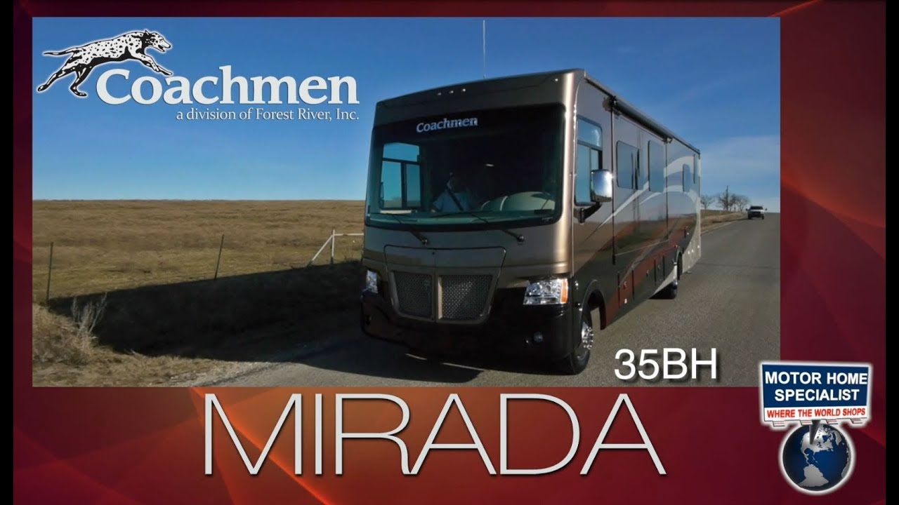 Beautiful Coachmen Mirada 35BH Bath Amp 12 Bunk Model RV Review At MHSRVcom 2014