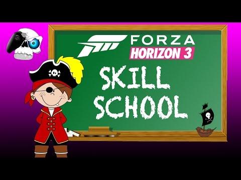 "#FORZATHON 'Skill School' (FORZA HORIZON 3) DAREDEVIL SKILL ""An Exceptional Display"" #FORZATHON"