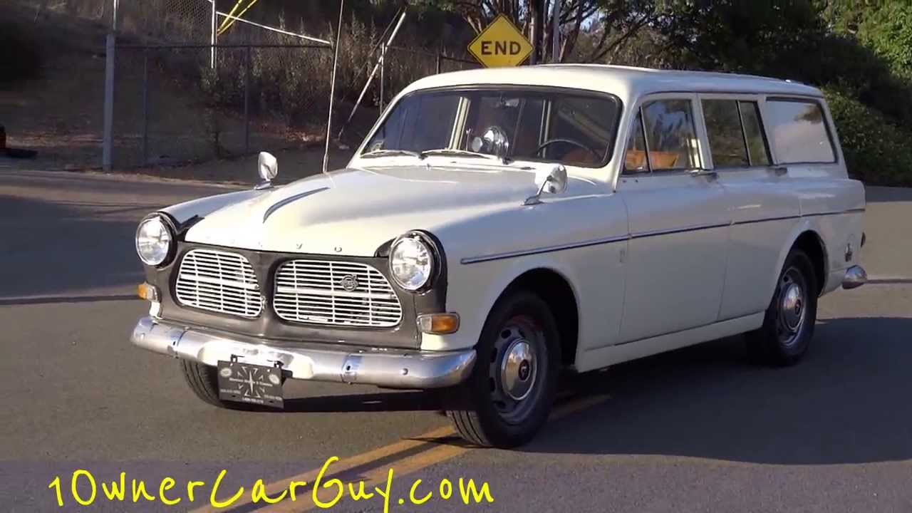 67 Volvo Amazon 122S Station Wagon B18 Classic Estate Break For Sale ...