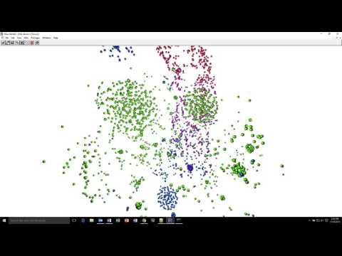 3D T-SNE Interactive Visulaization in R