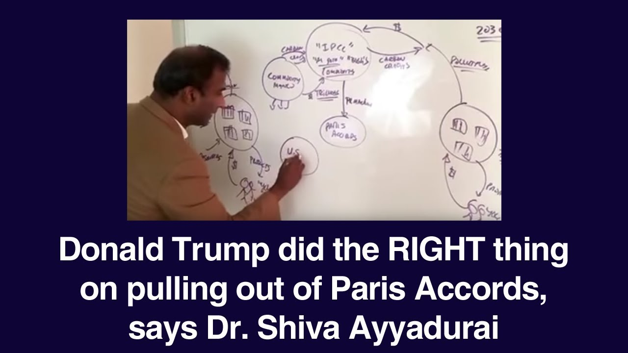 Donald Trump did the RIGHT thing on pulling out of Paris Accords