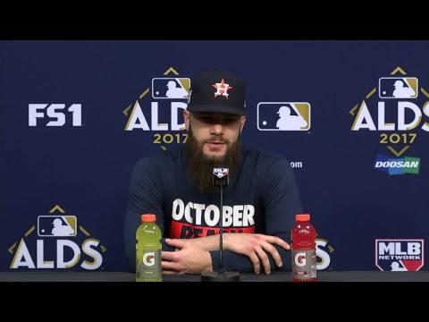 ALDS Live Press Conferences: AJ Hinch, Dallas Keuchel
