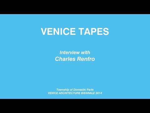 The Venice Tapes -- Interview with Charles Renfro
