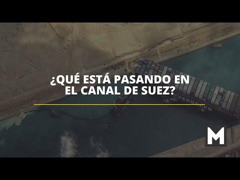 ¿Qué está pasando en el Canal de Suez?