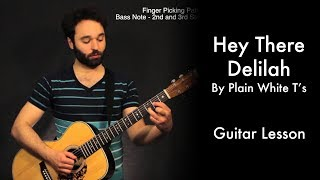 Hey There Delilah by Plain White T's Tutorial