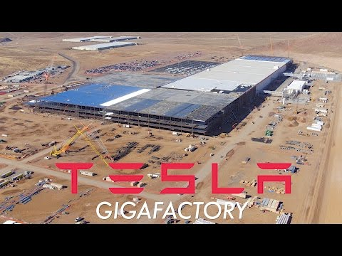 TESLA GIGAFACTORY: November 2016 Construction Update