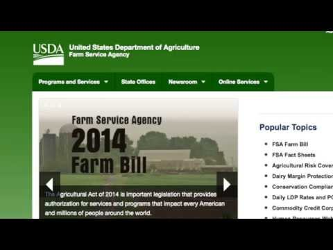 FSA Finalizes Farm Bill Regulations