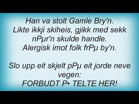 Hellbillies - Gamle Bry'N Lyrics