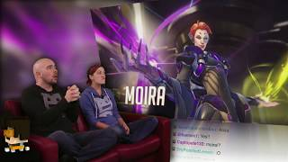 Moira Hero Reveal! - Overwatch AWESOME!