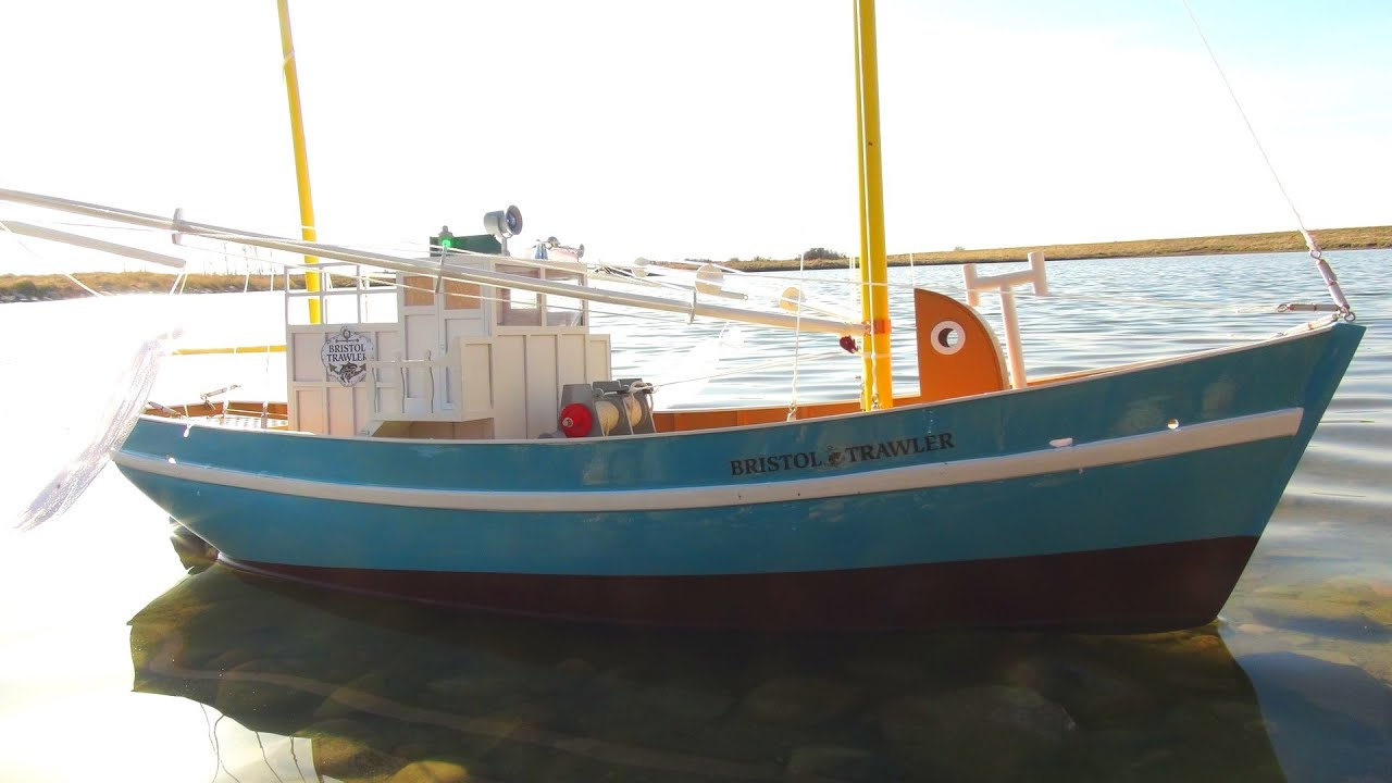 Rc adventures my first rc fishing boat bristol trawler for Rc fishing boat