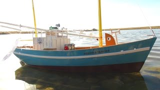 RC ADVENTURES - My First RC Fishing Boat - Bristol Trawler, Maiden Voyage