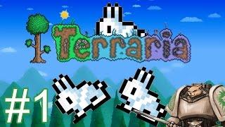 Let's Play Terraria 1.3 - Part 1 - Gameplay / Let's Play Introduction