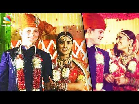 ശ്രേയ ശരൺ വിവാഹിതയായി  | Shreya Saran Wedding Video | Latest News