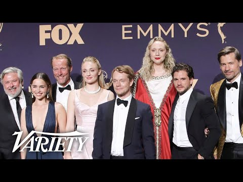 'Game of Thrones' Cast Bids Farewell to Show Backstage at the Emmys