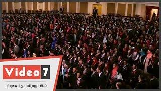 حفل تخرج الدفعة الـ35 فى معهد تكنولوجيا المعلومات بحضور وزير التعليم العالى