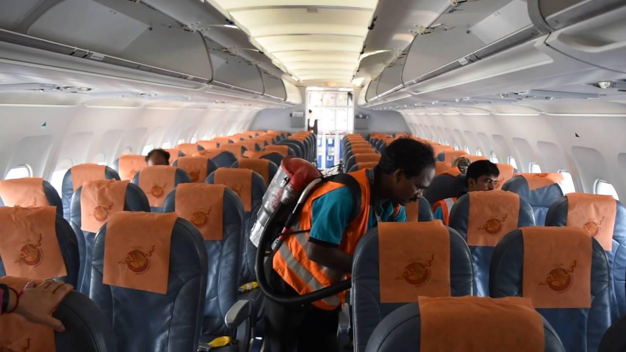 Indian Aircraft Cleaning Crew On Bhutan Airlines Flight From Bangkok To Paro Via Kolkata Youtube