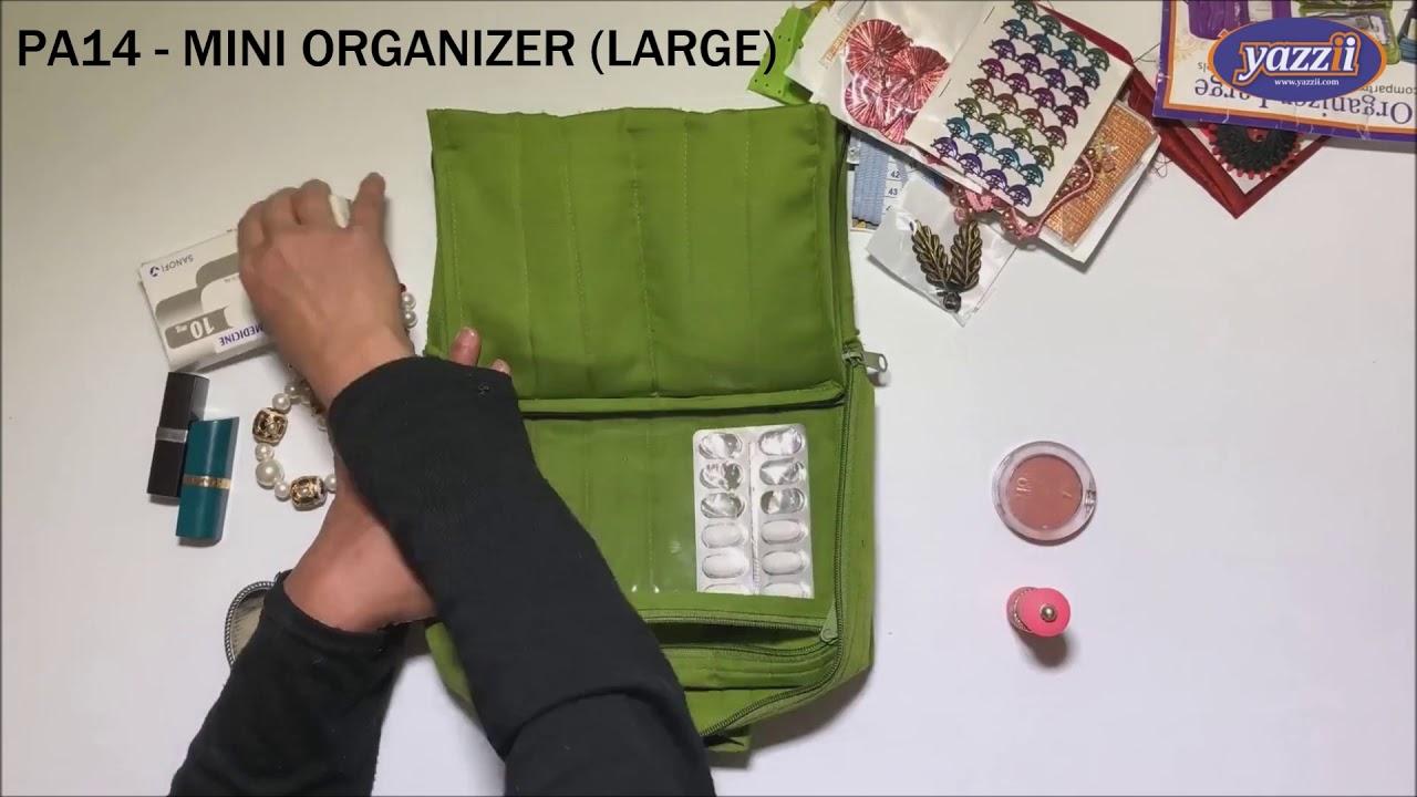 Yazzii Deluxe Craft Storage Organizer CA 610 Green