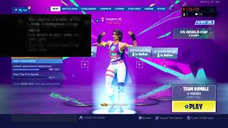Playing Fortnite | New World Cup Skins