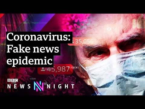 Coronavirus: The conspiracy theories spreading fake news - BBC Newsnight