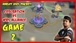 Pakbet by Harley is Unstoppable! Execration vs WRS Alliance | MPL-PH Game 2