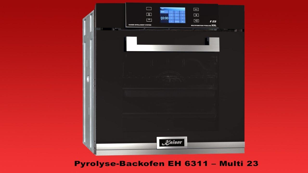 Kaiser Multi-Backofen EH 6311 Mit Pyrolyse Und