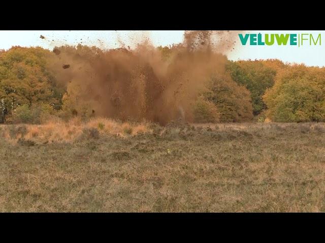 VeluweFM: Bom ontploffing Ermelo