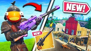 *NEW* AUTOMATIC SNIPER RIFLE & TILTED TOWN!! – Fortnite Funny Fails and WTF Moments! #641
