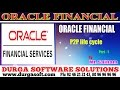 Oracle Finacial||online training||P2P lifecycle Part-1 by SaiRam