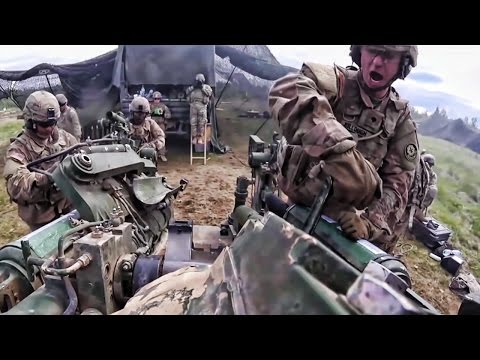U.S. Army Field Artillery Squadron 1st Person POV