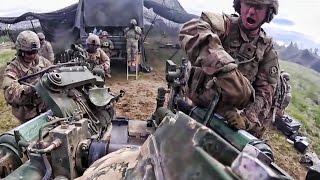 U.S. Army Field Artillery Squadron 1st Person POV