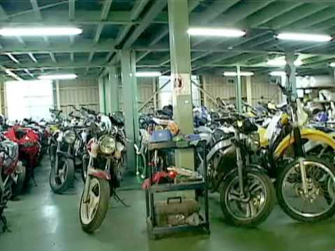 Largest Motorcycle Auction Exports In Japan