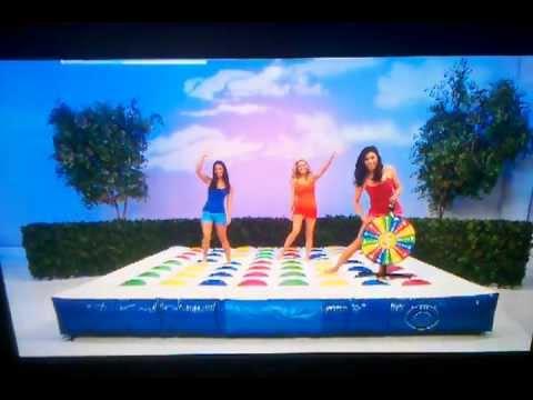 TPIR: 12/30/2011 GIRLS ALL PLAYING GIANT TWISTER RACHEL, MANUELA, & GWENDOLYN