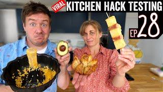 Testing Viral Kitchen Ha¢ks Ep 28
