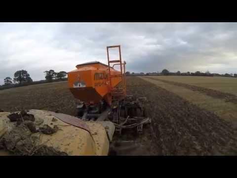 CAT Challenger MT755 Autumn Drilling 2014 with Mzuri Pro-Til 4T