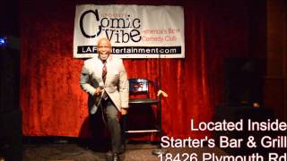 Video Tony Roney's Comic Vibe Comedy Quickie - Mike Bonner (Getting Older) download MP3, 3GP, MP4, WEBM, AVI, FLV Desember 2017