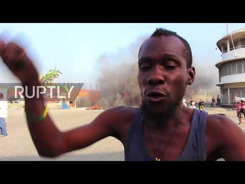 Haiti: One dead in violent protests against fuel price increase