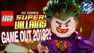 LEGO DC Super Villains Game Out 2018! ll Comming Soon