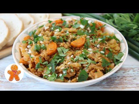 Вкусный Обед из Молодой Капусты ✧ Капуста По-Гречески