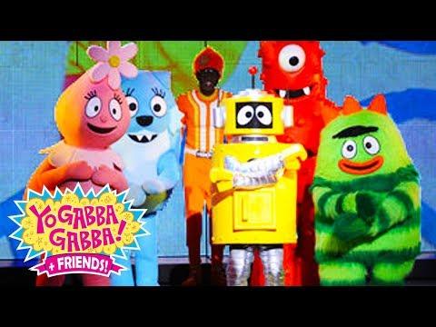 Yo Gabba Gabba! Family Fun - YO GABBA GABBA DANCE PARTY | DJ LANCE | Family show | Kids Songs
