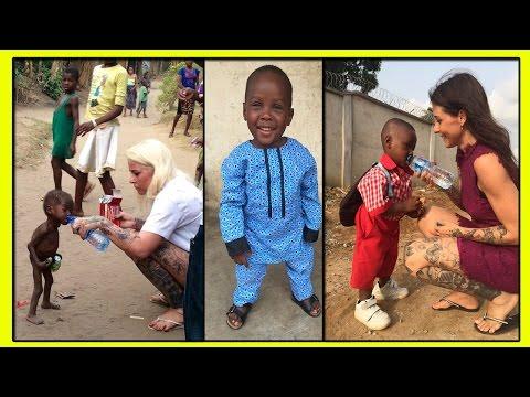 Истощенный Нигерийский Мальчик Хоуп со Всемирно Известной Фотографии Пошел в Школу!