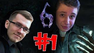 Resident Evil 6 Coop #1 Zaczynajmy Conquerku! (z: Conquer)