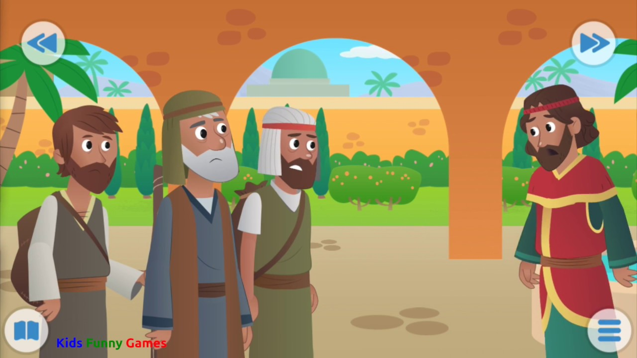 Nehemiah Bible Story For Kids