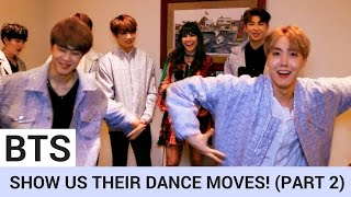 BTS Share Secret Pre-Show Ritual & Break Out Silly Dance Moves! (PART 2) | Hollywire