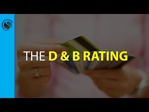 Dun And Bradstreet Number... The D U0026 B Rating