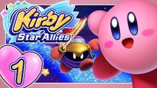 KIRBY STAR ALLIES 💞 Part 1: Kirby knutscht sich mit einem Haupttitel in HD auf die Nintendo Switch
