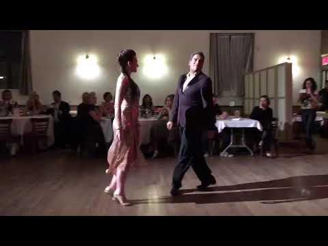 Ney Melo and Kelly Lettieri Milonga Para As Missoes Renato Borghetti at Astoria Tango Club