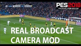 PES 2018: How to recreate real-life broadcast camera angles (PC only)